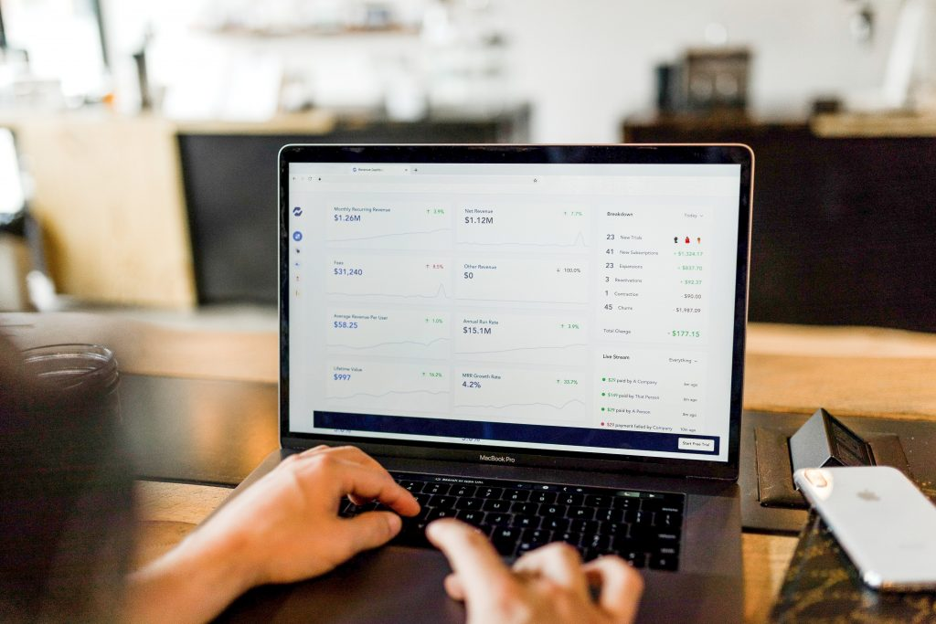 Online B2B Shop Controlling